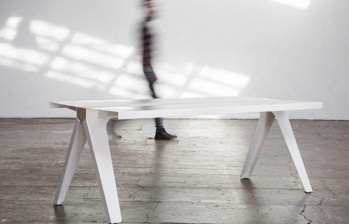 Marco De Masi -volta steel table