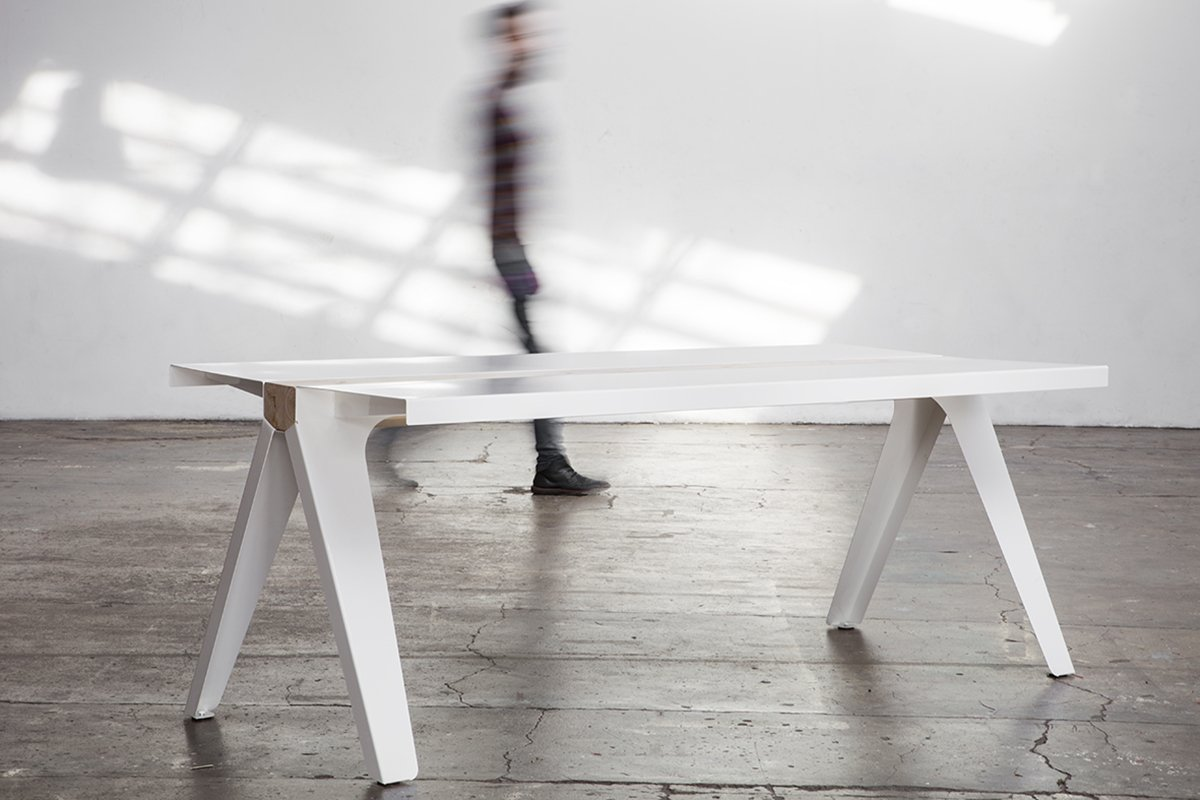 Marco De Masi -volta steel table